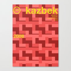 kazbek single hop Canvas Print