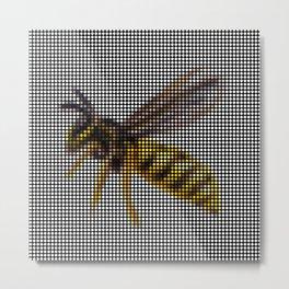 Wasp 2.0 by Lars Furtwaengler | Digital Interpretation | 2013 Metal Print