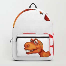 T-Rex - Dinosaur For Boys Girls Kids Backpack