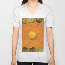 Fruit Physalis 3 Unisex V-Neck