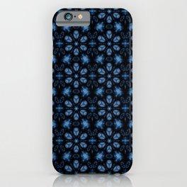 Blueberry Inspired Geometrical Art Print iPhone Case