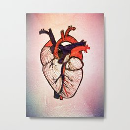 Open Heart Metal Print