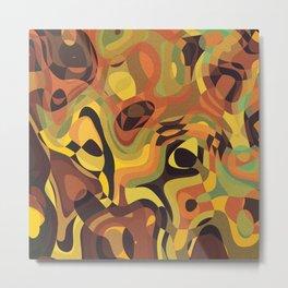 Abstract World 2 Metal Print