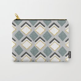 pattern of geometric figures Carry-All Pouch