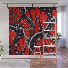 red monarch Wall Mural