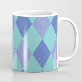 Argyle blues Coffee Mug