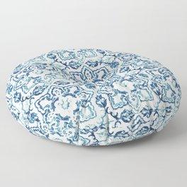 Azulejo IV - Portuguese hand painted tiles Floor Pillow