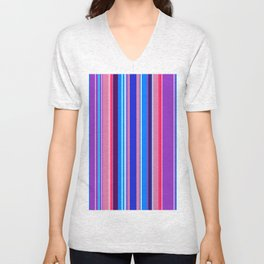 Stripes-019 Unisex V-Neck