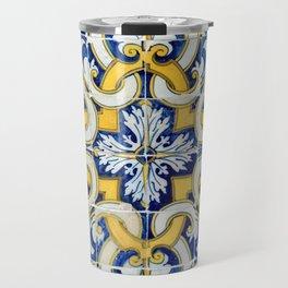Portuguese blue tile Travel Mug