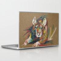 rat Laptop & iPad Skins featuring Rat by Anaïs Chesnoy
