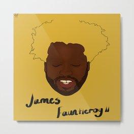 Floating Heads: James Fauntleroy  Metal Print