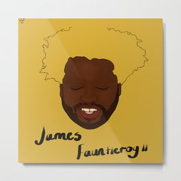 Floating Heads: James Fauntleroy  Metal Print