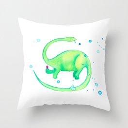 Bubbles! Throw Pillow