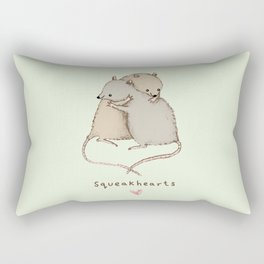 Squeakhearts Rectangular Pillow