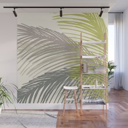 Palm Silhouette Series - Neutral Summer Palette Wall Mural