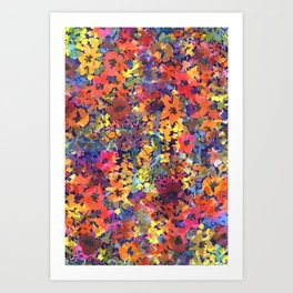 Late Summer Garden Art Print