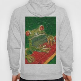 Red Eyed Frog Hoody