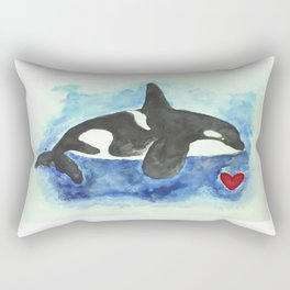 Orca Rectangular Pillow
