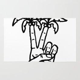 Peace Palms Rug