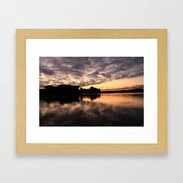 Cloud Reflections Framed Art Print