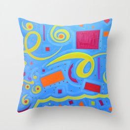 Abstraction1 Throw Pillow