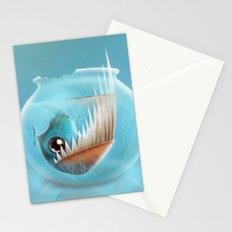 Piranha Stationery Cards