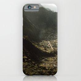 Madeia Portugal Village iPhone Case