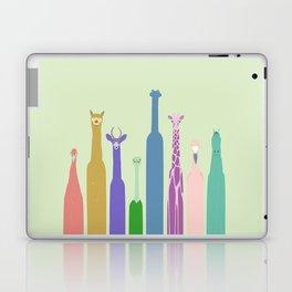 Long Neck Animals Laptop & iPad Skin