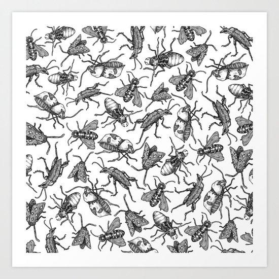 Bugs Bugs Bugs Art Print