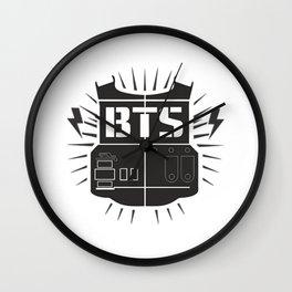 BTS Logo Wall Clock
