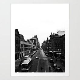 the high line  Art Print