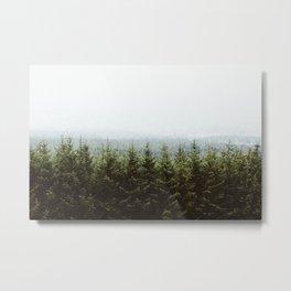 Beyond The Pines Metal Print