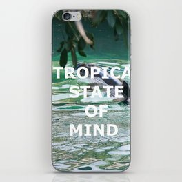 Tropical State Of Mind iPhone Skin