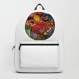 Wild Stoner Flower Backpack