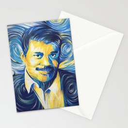 Neil deGrasse Tyson Starry Night Stationery Cards