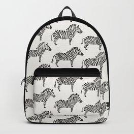 Zebras – Black & White Palette Backpack