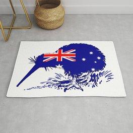 Australian Flag - Kiwi Bird Rug