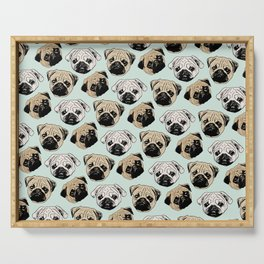 Pug Serving Tray