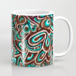 Jack Turquoise/Brown Coffee Mug