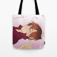 hetalia Tote Bags featuring APH: Buonanotte by Jackce