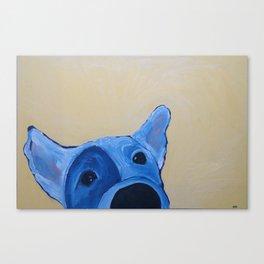 Wet Nose Canvas Print