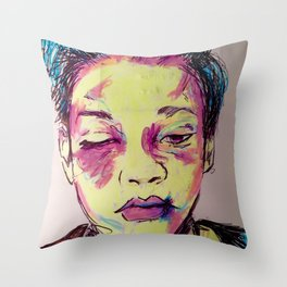 No.13 Throw Pillow