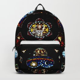 Christ the King Stained Glass - Photography Backpack