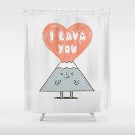I Lava You 2 Shower Curtain