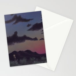 Darker Colors Stationery Cards