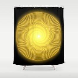 Natural Human Progression Toward Enlightenment Shower Curtain
