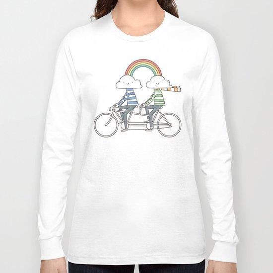 Love makes life a beautiful ride Long Sleeve T-shirt