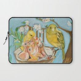 Canaries Laptop Sleeve