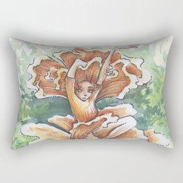 Empire of Mushrooms: Cantharellus cibarius Rectangular Pillow