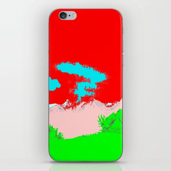 Ice Cream Mountain iPhone & iPod Skin